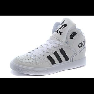 Men's/Women's Adidas Originals High Top Leather